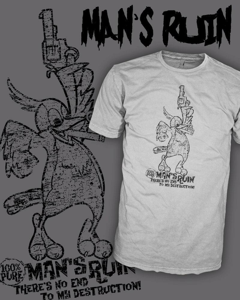 Record Label Shirts Man's Ruin Record Label Shirt