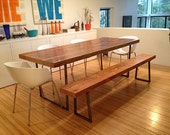 "Custom dining bench (1.65"" Standard Top, 5'L x 11.5""w x 18""h)"