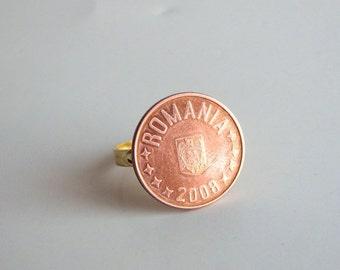 2008 Romania coin ring