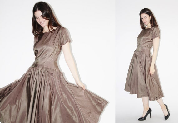 1950s Anne Fogarty Dress - Vintage 50s Dress - The Etoile Dress - 8057