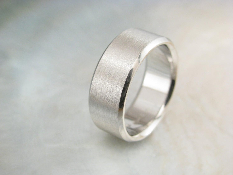 Wide platinum men 39 s wedding band 9mm men 39 s band by for Platinum mens wedding rings