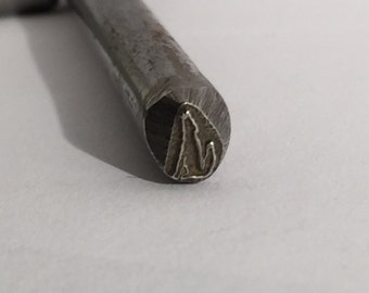 Coyote Design Stamp-5 mm-Steel Stamps Metal Stamping Supplies for Personalized Jewelry