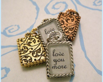 Love You More Necklace - Decor Frame Style