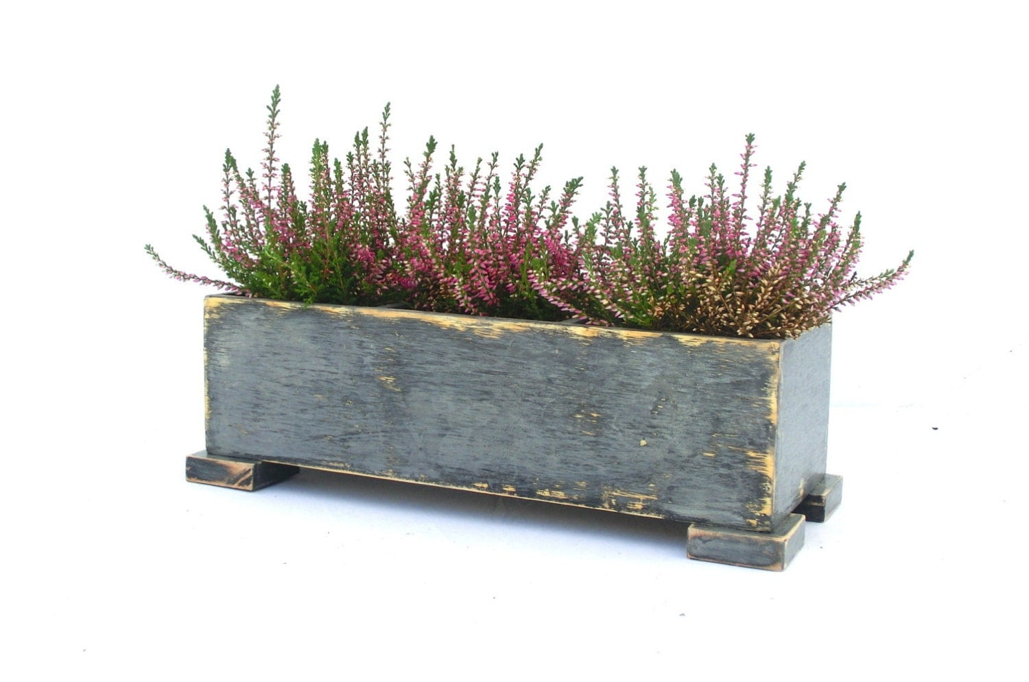 Window Box Cedar Herb Planter Indoor Planters Outdoor