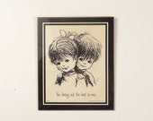 Laminated Moppets Plaque - You Bring Out the Best in Me