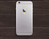 Apple Light Bulb Vinyl iPhone Decal BAS-0154