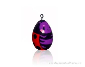 Custom Kawaii Ladybug Ornament or Figurine