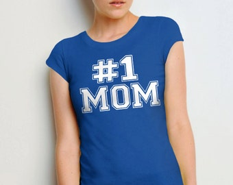 Gift for Mom Tshirt | #1 Mom Shirt | Best Mom Shirt | Gift for Her | Mom Gift | Womens Tee | Mom to Be Gift | New Mom Gift | Mother's Day