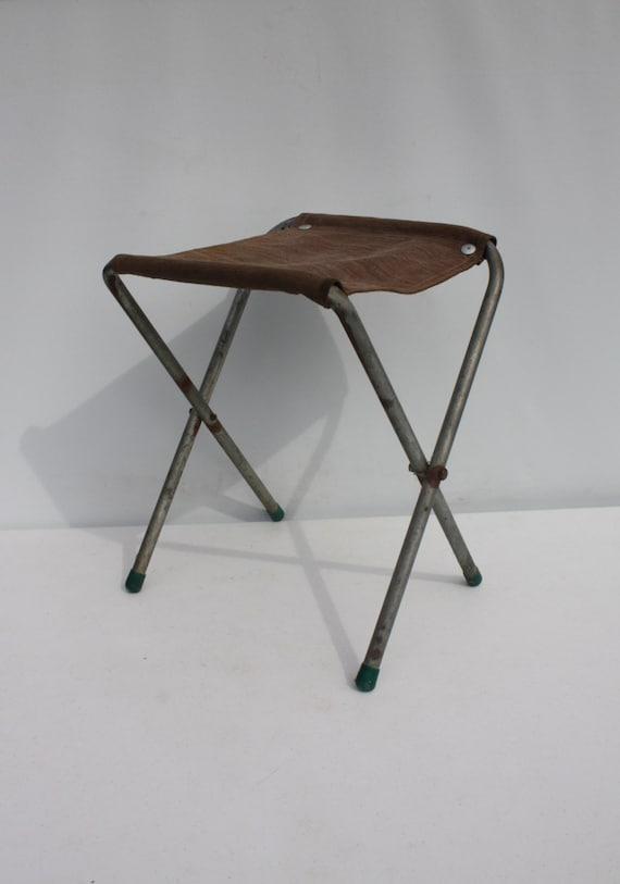 Fine Us Army Folding Stool Vintage Fold Up Camping Army Stool Machost Co Dining Chair Design Ideas Machostcouk