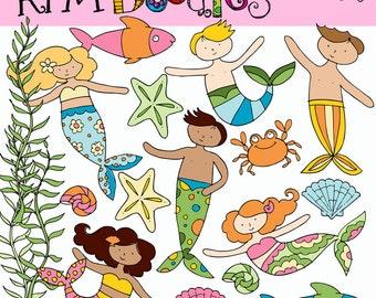 KPM Mermaids and Merboys