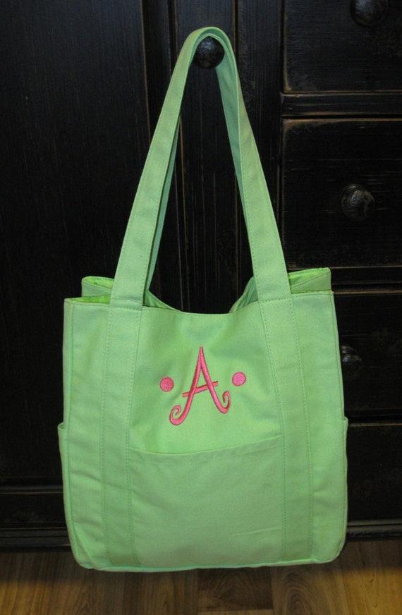 Anna Canvas Diaper Bag or Tote