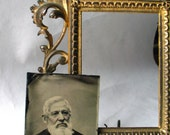 Antique- TinType - Sea Captain-Photography -19th Century - Family Portrait