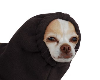 CHIHUAHUA Dog Hood, Dog Winter Hat, Fleece Hood, Snood