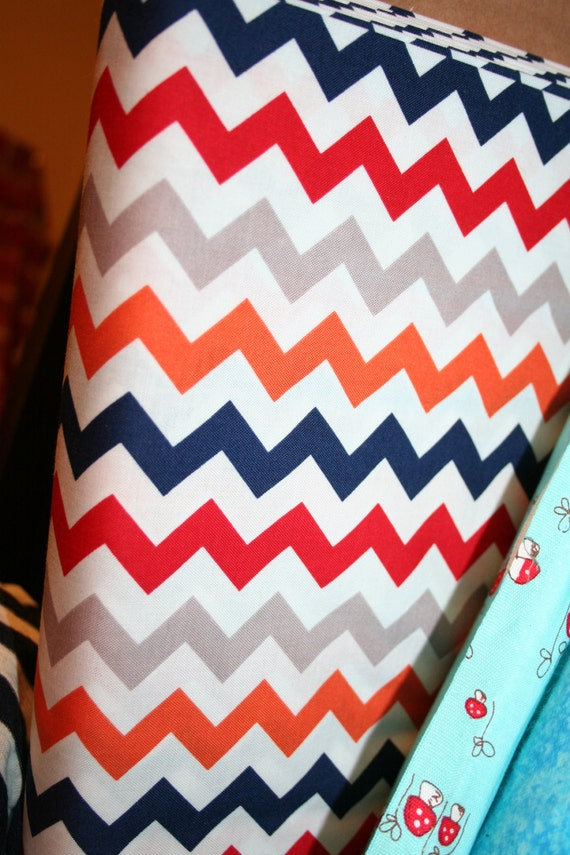 Small Boy Chevron  (one yard) - 1""