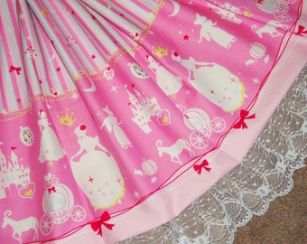 Cinderella Fairytale Magical Night at the Ball Sweet Lolita Skirt - ANY SIZE