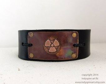 Post Apocalyptic Mens Bracelet.
