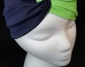 Seahawks Headband,NFL, Super Bowl Headband, Twist Turban