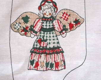 Country Angel - Sewing Fabric Panel