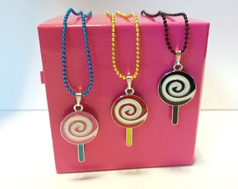 Sale! Lolly pop Candy Necklace #2