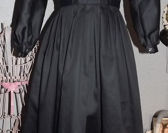 Girls Custom Size Mourning Dress Clara Barton Dress