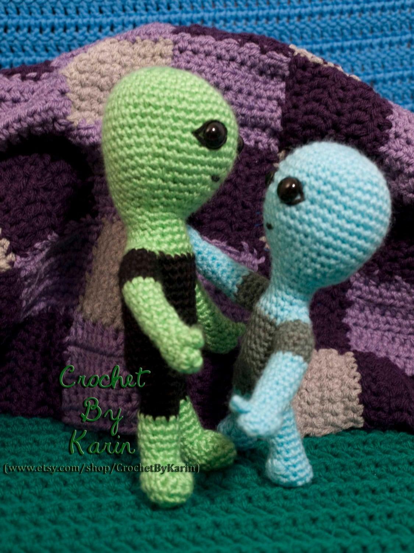 Alien Crochet Amigurumi Pattern