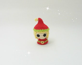 20% OFF Crochet Elf / Christmas Amigurumi / Crochet Christmas / Christmas Toys / Amigurumi Elf / Christmas Ornament / Stocking Stuffer