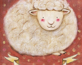 Ewe are Awesome! Print 5x7 by Megumi Lemons