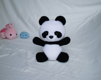 Panda Bear - Amigurumi Animals PDF Crochet Pattern