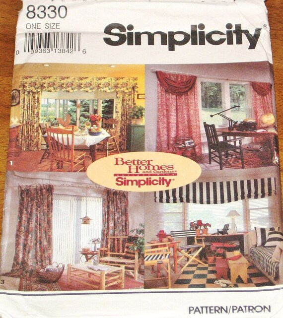 Simplicity 8330 Better Homes Gardens Window By Sewbohemian