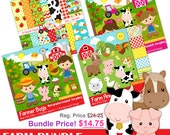 Farm Bundle - Farm clipart - Bundle price