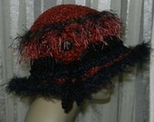 Ladies Funky  Hat - Novelty Trim