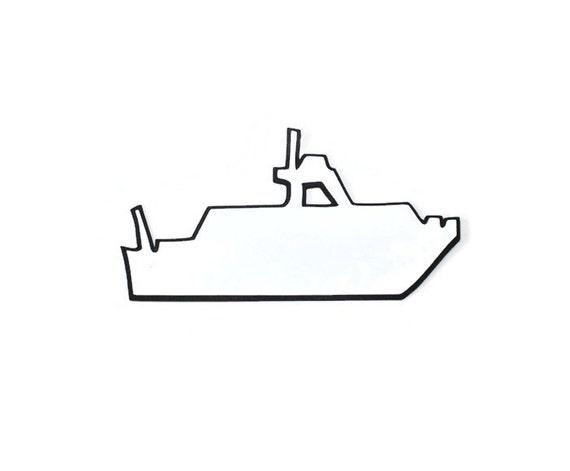 Items Similar To Coast Guard Boat Die Cut