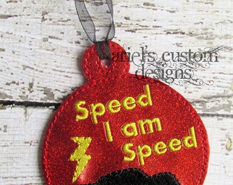 Race Cars Christmas Ornament