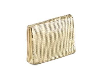 Vintage Duramesh Gold Evening Clutch