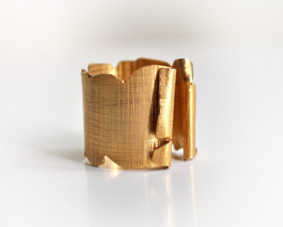 CUSTOM ORDER for Yang-Gold Papyrus Ring-Gold Wide Textured Ring-Egyptian Inspired Rings-Bohemian Jewelry-Under 100