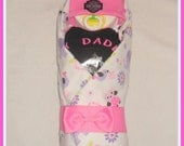 BABY GIRL-My Daddy Rides A Harley Diaper Baby-UNIQUE Baby Gift