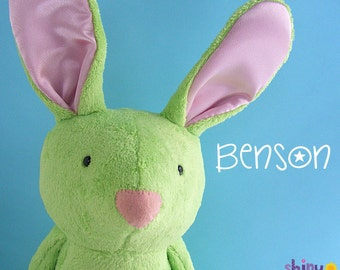 Benson Bunny Softie Pattern (digital PDF pattern)