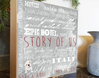 Christmas Gift Idea, Christmas Present, Unique Christmas Gift, Personalized Home Decor, Parents Gift, Anniversary Gift, Valentines Gift