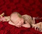 Baby Hair Accessories - Gold Baby Headband - Vintage Headbands - Baby Girl Headbands- Baby Headbands - Infant Headband - Sparkle Birthday