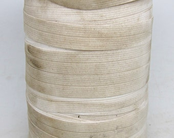 Large spool of .75 in. white elastic