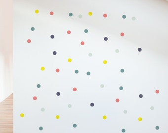 Party Circles Removable Wall Sticker | LSB0010WHT