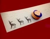 Reindeer Silhouette Stamp S001 - Final Sale