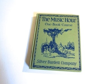 Items similar to The Music Hour antique, vintage, children ...