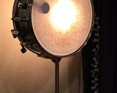 Vintage Snare Drum Table Lamp- Musicians Lighting
