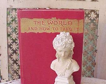 "Victorian Book: ""The World and How to Take It"" an 1891 Guide to Life by Rev.A.J. Baird D.D."