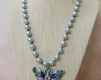 Necklace - Winged Luv