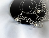 Bridal Party Gifts, Custom Wine Charms, 10pcs