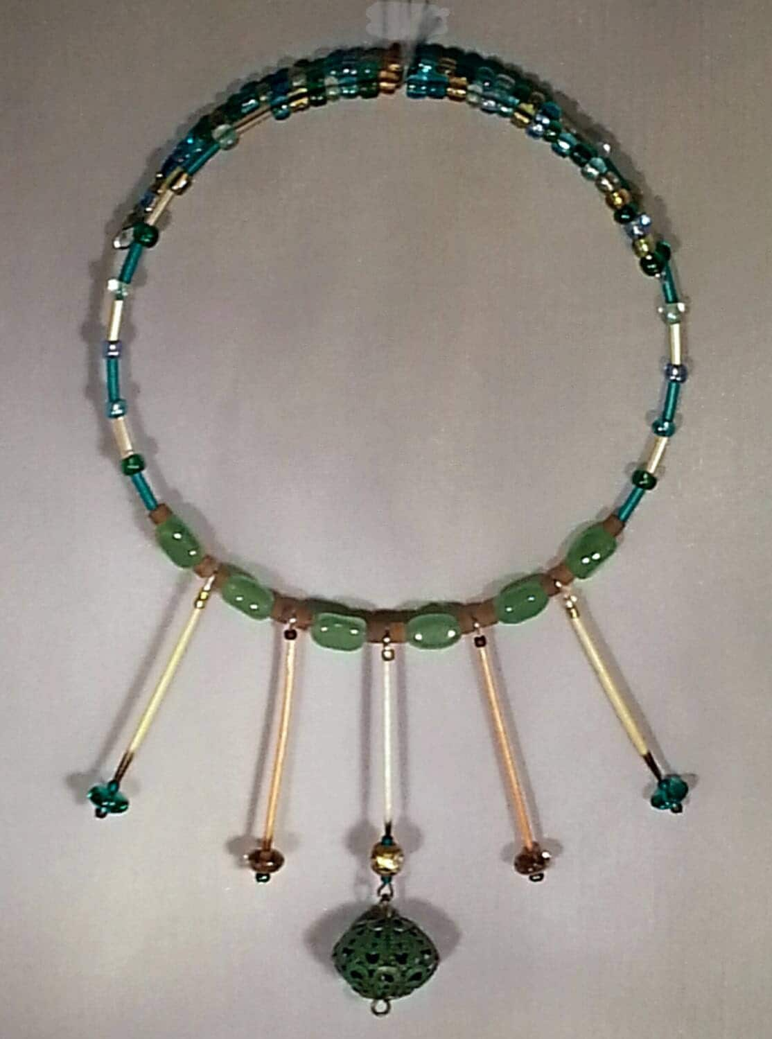 Porcupine Quill Jewelry Spring Colors Hoop Ala...