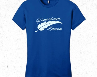 Harry Potter t-shirt women's - Wingardium Leviosa tshirt - spell tshirt