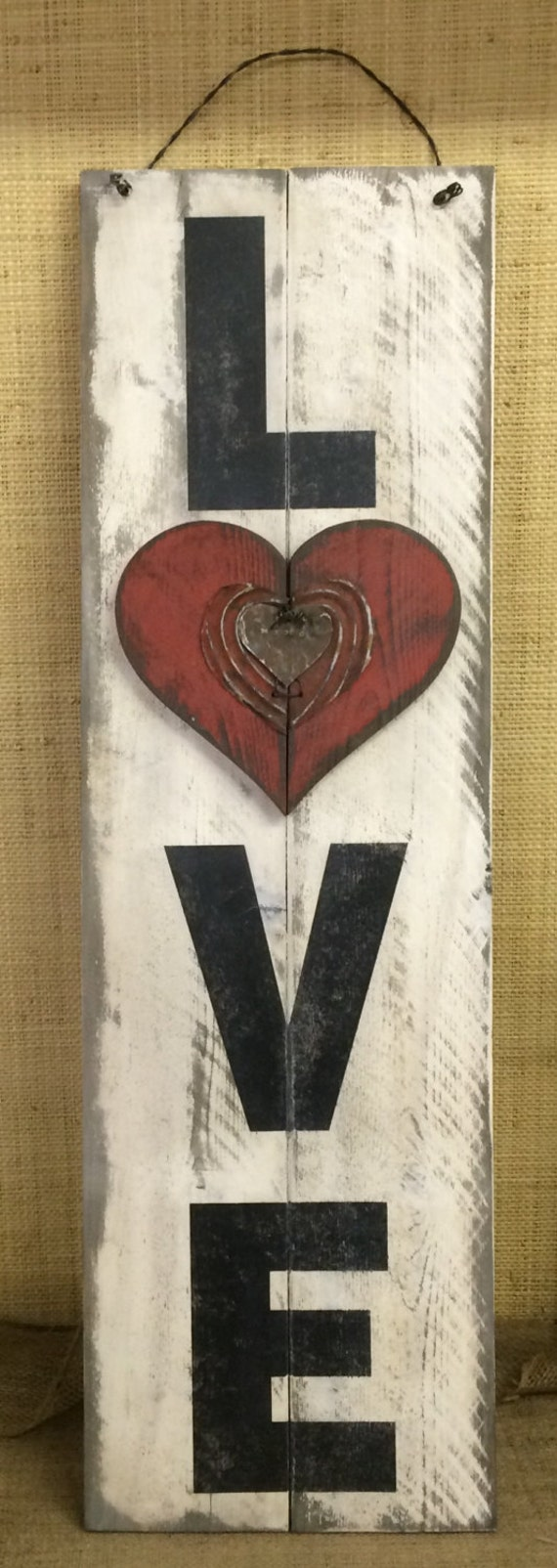 Valentines Day Heart Wall & Door Signs | Valentine's Day Wikii |Valentine Hand Painted Wood Signs